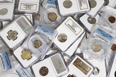 HUGE OVERSTOCK! Slabbed US coins, NGC and PCGS ONLY! Price per slab, MS/Proof!