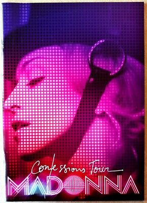 Madonna, Confessions Tour, Program With Stickers, Excellent Condition!