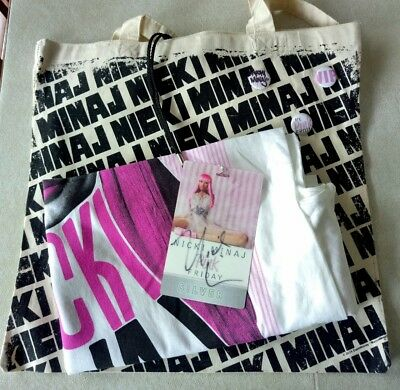 Nicki Minaj, Autographed Concert Swag Lot!  My Pink Friday Tour! Mint/never Used