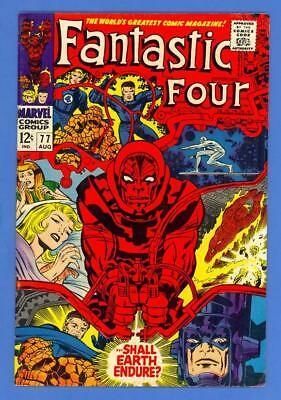 Fantastic Four #77 – Marvel Comics (1968) – Silver Surfer – Jack Kirby