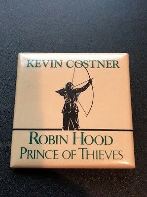 Robin Hood Prince Of Thieves Kevin Costner Button Pin