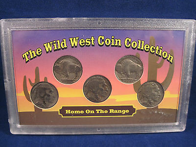 The Wild West Coin Collection Buffalo Nickels