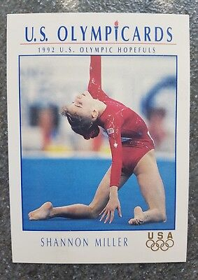 US Olymp Cards Shannon Miller OS 1992 Nr. 46 Trading Card