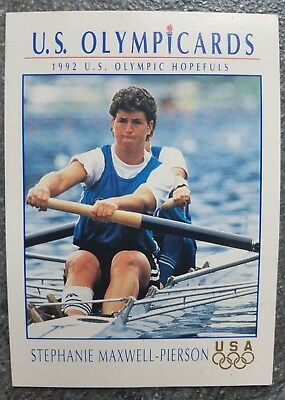 US Olymp Cards S.Maxwell-Pierson OS 1992 Nr. 58 Trading Card