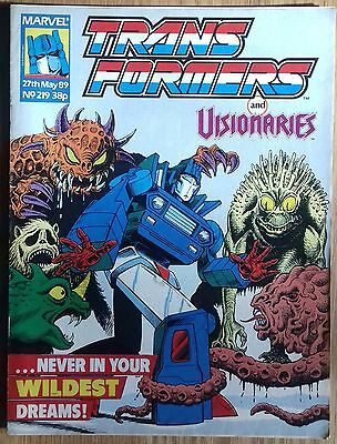 Transformers UK Comic Issue 219