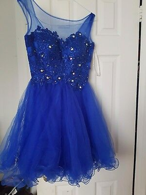 Royal Blue Dress in a very good condition small size worn once