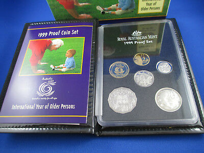 1999 Australian RAM PROOF COIN SET.  - International Year of Older Persons -
