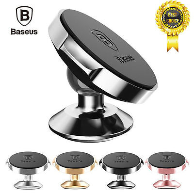 Baseus Universal 360 Degree Rotating Phone Holder Car Magnetic Mount Stand A++