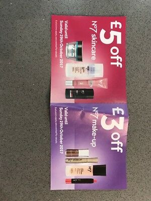 Boots No7 Skincare And Make Up Voucher