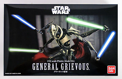 Bandai Star Wars General Grievous 1/12 scale kit 167433