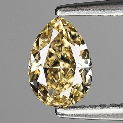 1.02 Cts RARE UNTREATED INTENSE YELLOW COLOR NATURAL LOOSE DIAMONDS- VS2