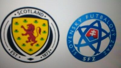 2017/18 Scotland V Slovakia 05/10/17 World Cup Qualifier