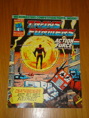 Transformers British Weekly #235 Marvel Uk Comic 1989