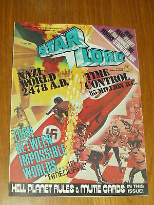 Star Lord British Weekly Comic 1 July 1978 2000Ad^