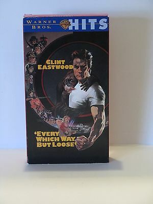 Clint Eastwood In Every Which Way But Loose Vhs