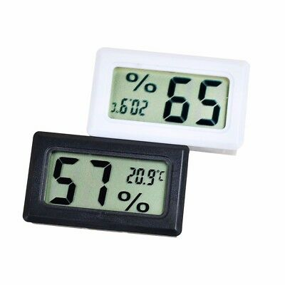 Digital LCD Thermometer Hygrometer Temperature Humidity -50~70℃ 10%~99%RH WFEU