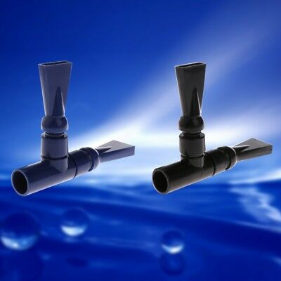 Aquarium Pump Duck Bill Flat Nozzle Return Pipe Water Outlet Tube Joint Filter