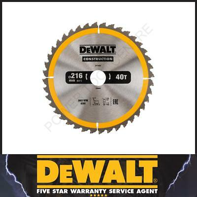 DeWalt DT1953 DT1155 Circular TCT Saw Blade 216mm x 30mm 40T Tooth for Mitre Saw
