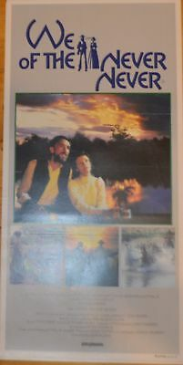 WE OF THE NEVER NEVER  original Australian movie poster daybill-