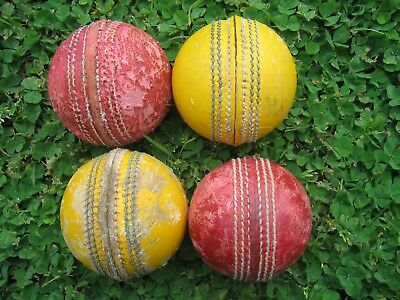 Cricket Balls Used x 4