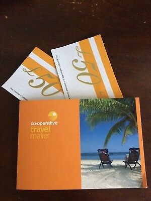 co operative travel maker £100 voucher