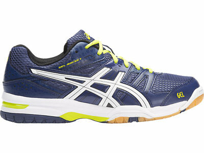 Boys asics Gel Rocket 7 Trainers Shoes Size 5.5 Multi Indoor court Volleyball