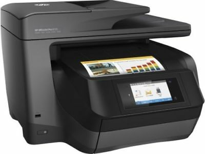 HP OfficeJet Pro 8725 All-in-One Printer Wireless Print Scan Copy