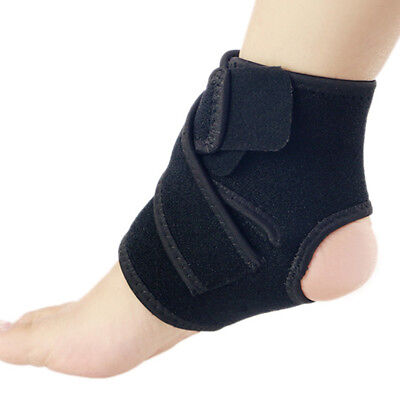 New Sports Basketball Adjustable Ankle Support Brace Feet Care Protecter Gear
