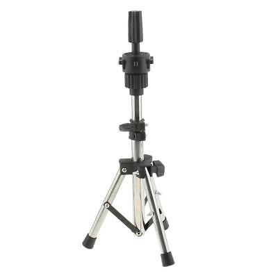 Stainless Steel Cosmetology Wigs Mannequin Manikin Head Holder Tripod Stand