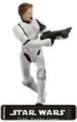 WOTC Star Wars Minis Alliance & Empire Han Solo in Storm Trooper Armor SW