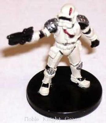 WOTC Star Wars Minis Force Unleashed Raxus Prime Trooper SW
