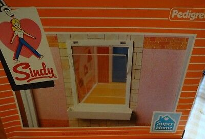 Vintage Pedigree Sindy 1983 Boxed Complete Double Window Pack Set & BNIB (B)
