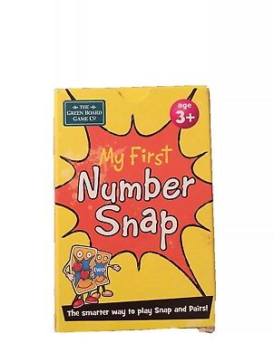 *Brainbox*  My First Number Snap Cards BNWT RRP £4.00
