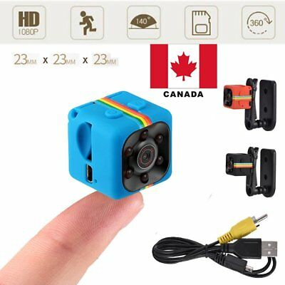 360° Mini DV Camera 1080P Full HD Sports IR Night Vision DVR DC Video Recorder C