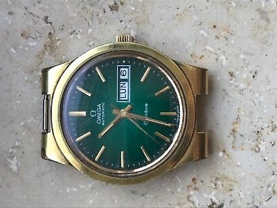 Omega Geneve Armband uhr  goldfield ohne band cal 1122 voll funktion movement
