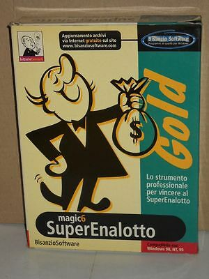 Magic 6 SuperEnalotto Gold | CD per Windows | Bisanzio Software | 1998