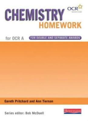 Chemistry Homework Book (GCSE Science for OCR A),Mr Bob McDuell, Ann Tiernan, M