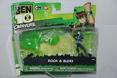 Ben 10 Omniverse Rook and Bloxx 2 MINI FIGURES by: Bandai - Cartoon Network
