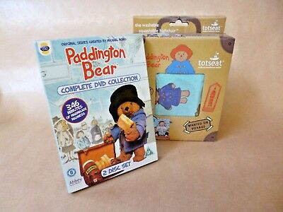 Paddington Bear 'totseat' *New* Plus Paddington Bear Complete DVD Collection