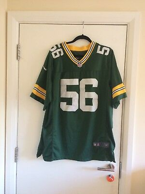 NFL Green Bay Packers Football Jersey - Julius Peppers Size 48 (Large)