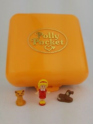 Vintage Polly Pocket Town House 100% Complete Excellent condition 1989 bluebird