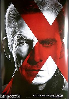 X Men Days Of Future Past Promo Poster Marvel Michael Fassbender Patrick Stewart