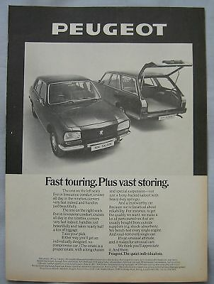 1973 Peugeot 504 Original advert