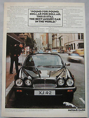 1982 Jaguar XJ 4.2 Original advert