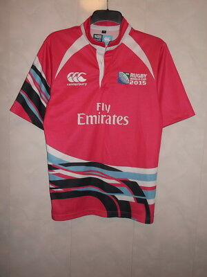 Referee Shirt - Rugby World Cup 2015 (England) - Canterbury - RARE - MED  39/41""
