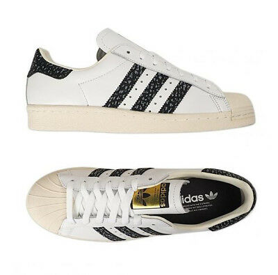 dd4d3c211d ADIDAS ORIGINAL SUPERSTAR 80s (S75847) Athletic Sneakers Shoes White ...