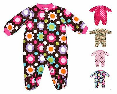100 Brand New Top Quality Warm Fleece Baby Sleep Suits Various designs/sizes