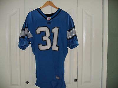 Game Issued Detroit Lions Jersey Autographed Auto