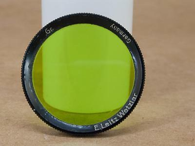 Leitz Leica FBXOO  Gr Yellow Green Filter for 5cm Summar (001)