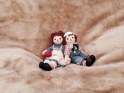 Raggedy Ann and Andy Enesco Figurine Forever True
